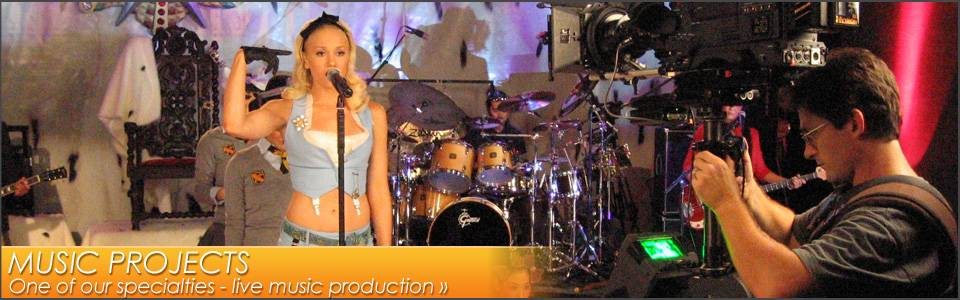 Recording artists - see who we've worked with...